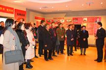 全国城市基层党建观摩团赴大桥石化郑州红色家园教育基地参访