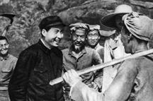 水石|毛泽东——为人民服务的楷模